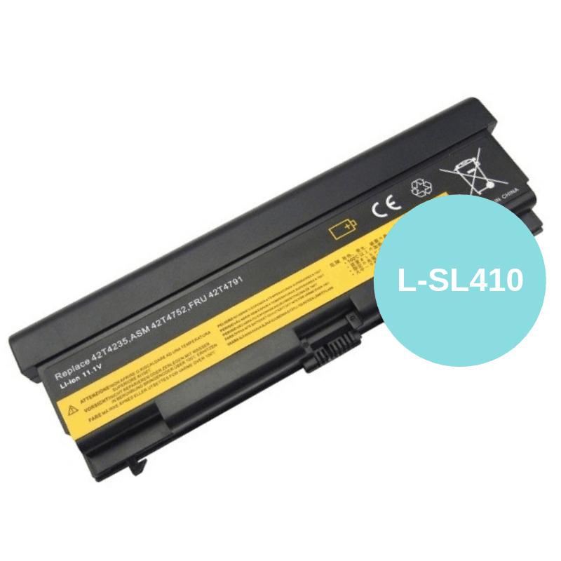 Lenovo ThinkPad (SL410) L420 / L510 / L520 / SL510 / T410 / T420 / T510 /  T520 / W510 / W520 | Laptop Replacement Battery